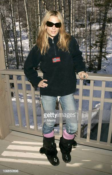 Molly Sims with Napapijri during UPP Hot House sponsored by The North Face Napapijri Hush Puppies Nautica LEE Biolage Absolut Atkins Wigwam and Evian...