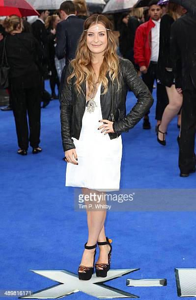 Molly SmittenDownes attends the UK Premiere of XMen Days of Future Past at Odeon Leicester Square on May 12 2014 in London England