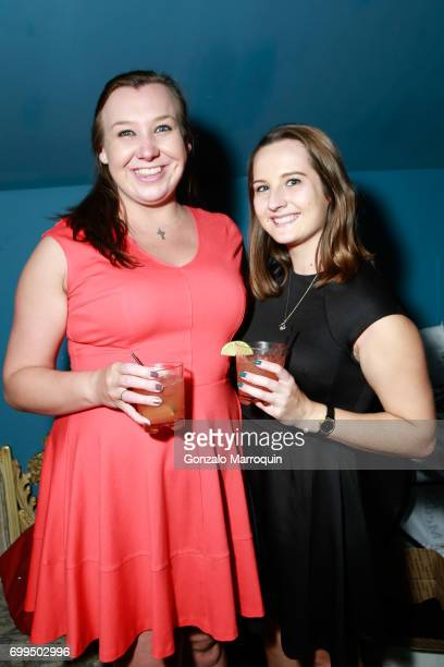 Molly Stewart and Allison Hillier attend the Medshare's 6th Annual YP Global Health Benefit on June 21 2017 in New York City