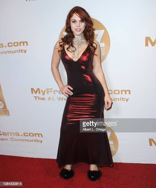 Molly Stewart arrives for the 2019 XBiz Awards held at The Westin Bonaventure Hotel Suites on January 17 2019 in Los Angeles California