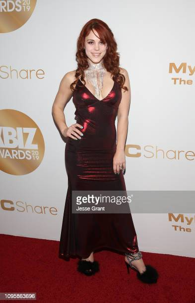 Molly Stewart attends the 2019 XBIZ Awards on January 17 2019 in Los Angeles California