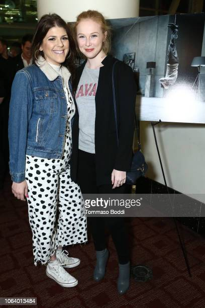 Molly Tarlov and Molly Quinn at a Social Influencer Special Screening of Columbia Pictures' 'The Girl In The Spider's Web' held at ArcLight Hollywood...
