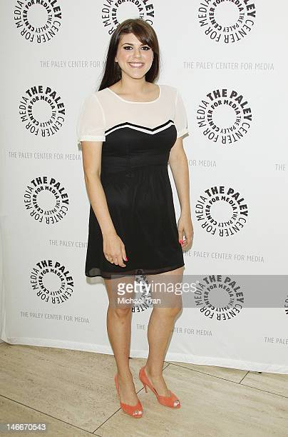 """Molly Tarlov arrives at season 2 premiere screening of MTV's comedy series """"Awkward"""" held at The Paley Center for Media on June 21, 2012 in Beverly..."""