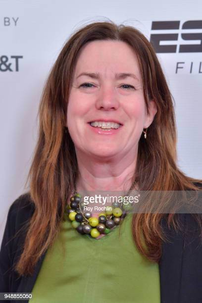 Molly Thompson attends a screening of 'No Greater Law' during the 2018 Tribeca Film Festival at Cinepolis Chelsea on April 19 2018 in New York City