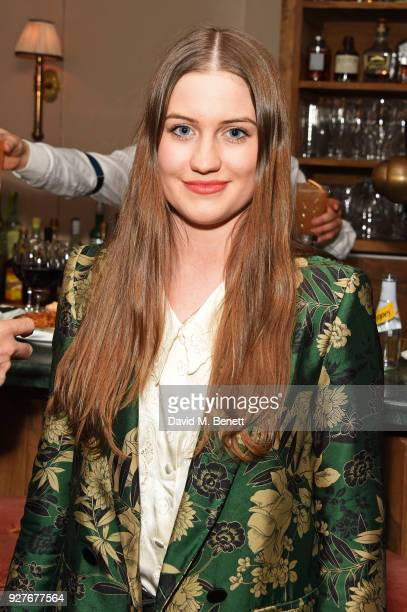 """Molly Whitehall attends an exclusive screening of """"Ali & Nino"""" at Soho House on March 5, 2018 in London, England."""