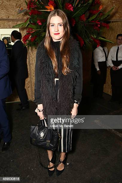 Molly Whitehall attends the exclusive preview of the art exhibition 'Here Today...' to celebrate the 50th anniversary of The IUCN Red List of...