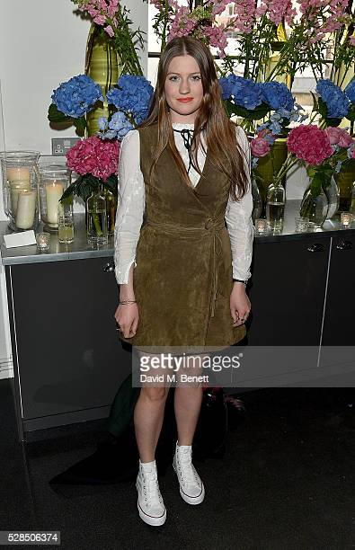 Molly Whitehall attends the launch of D&D London's Blossom City campaign at McQueens on May 5, 2016 in London, England.