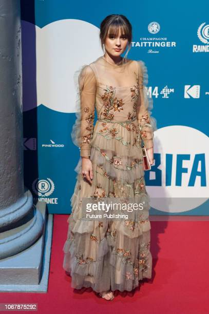 Molly Wright attends the 21st British Independent Film Awards at Old Billingsgate in the City of London December 02 2018 in London United Kingdom