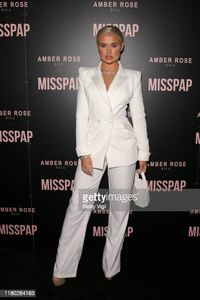 MollyMae Hague attends the Misspap Launch Party on October 10 2019 in London England