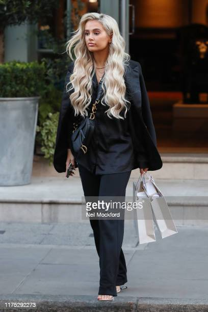 MollyMae Hague seen leaving the Charlotte Street Hotel on September 17 2019 in London England
