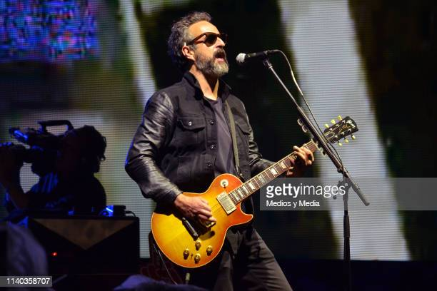 Molotov perform during El Evento 40 a concert organized by 'Los 40' radio station at Foro Sol on April 3 2019 in Mexico City Mexico