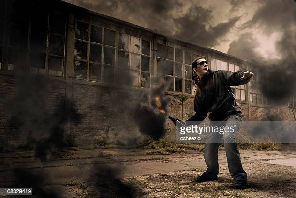 molotov - riot stock pictures, royalty-free photos & images