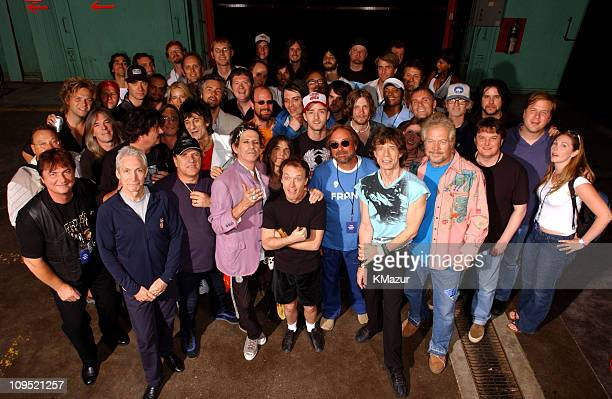The Rolling Stones AC/DC Justin Timberlake The Guess Who and guests