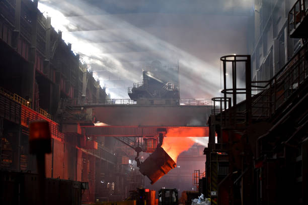 Steel Production At Salzgitter AG