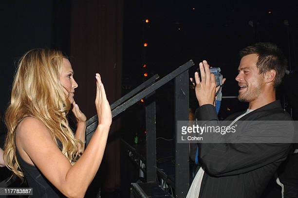 Moly Sims and Josh Duhamel during Molly Sims Hosts the 3rd Annual Night with the Friends of El Faro Benefit at Henry Fonda Theatre in Los Angeles...