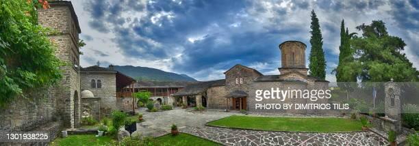 molyvdoskepasti panorama - dimitrios tilis stock pictures, royalty-free photos & images