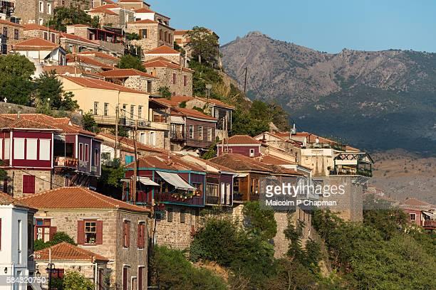 Molyvos old town, Mithymna, Mytilene, Lesvos, Greece.