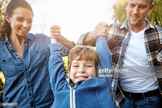 50% Mom, 50% Dad, 100% me!