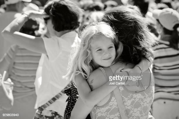 Mutter und Tochter in Asheville, North Carolina