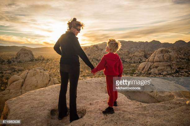Mom and Son High Desert