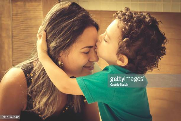 mom and son - mother and son stock photos and pictures