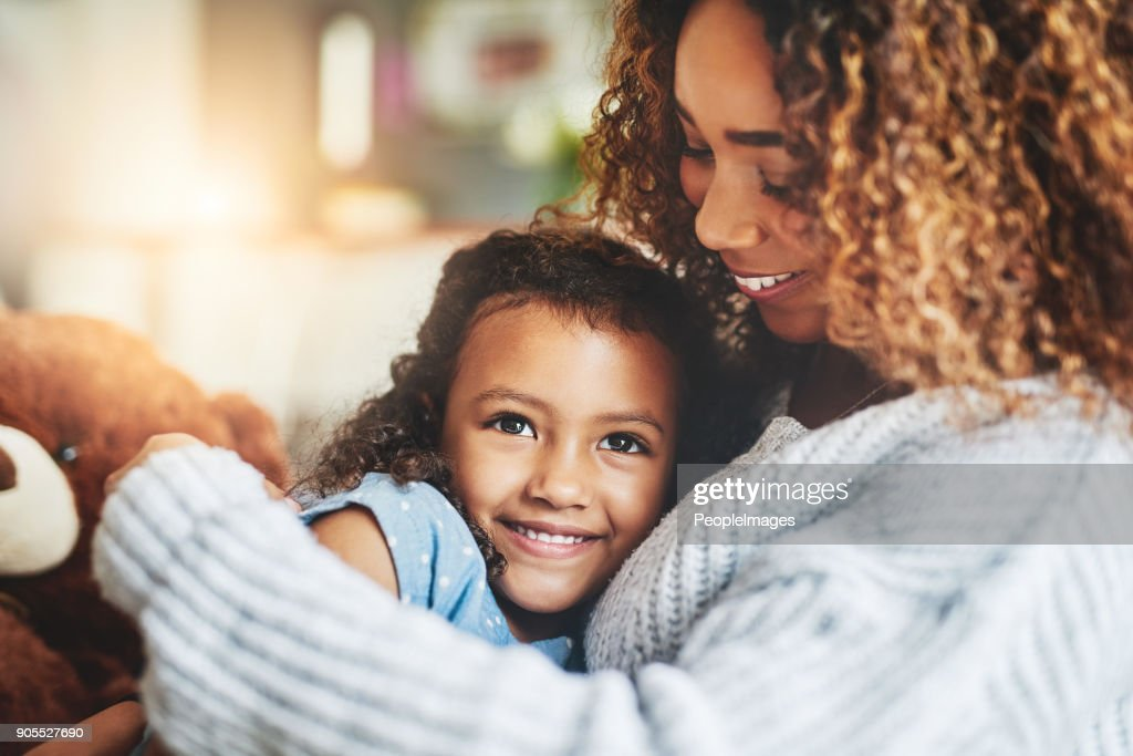 Mom hugs, nothing quite like them : Stock Photo