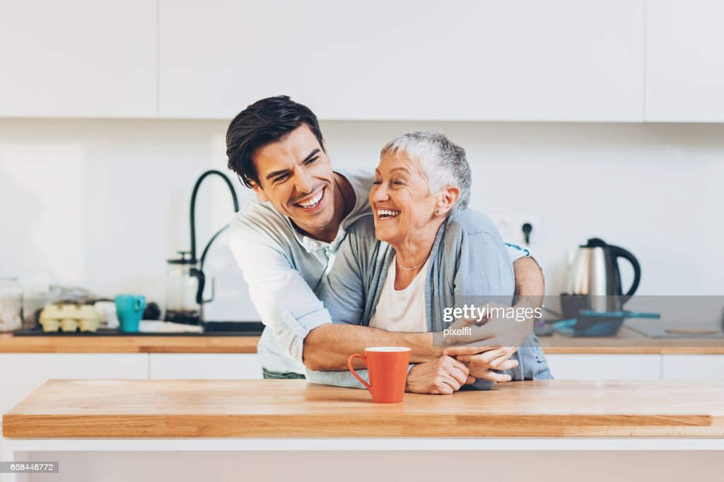 Mom is the best! : Stock Photo