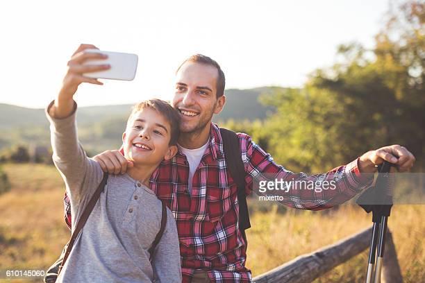 Moment for selfie