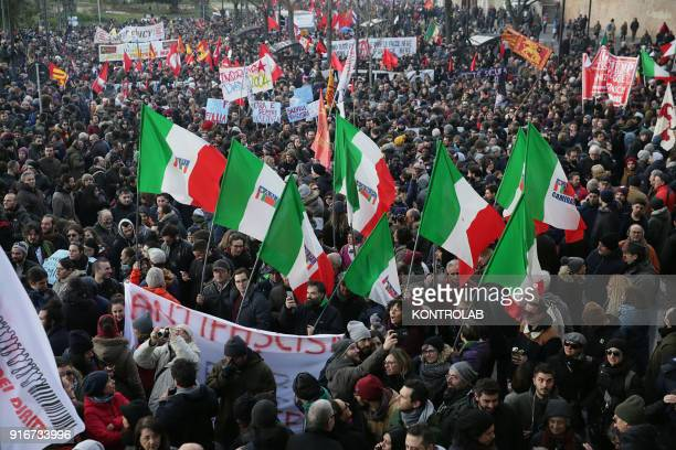A moment of antiracist demonstrations in Macerata