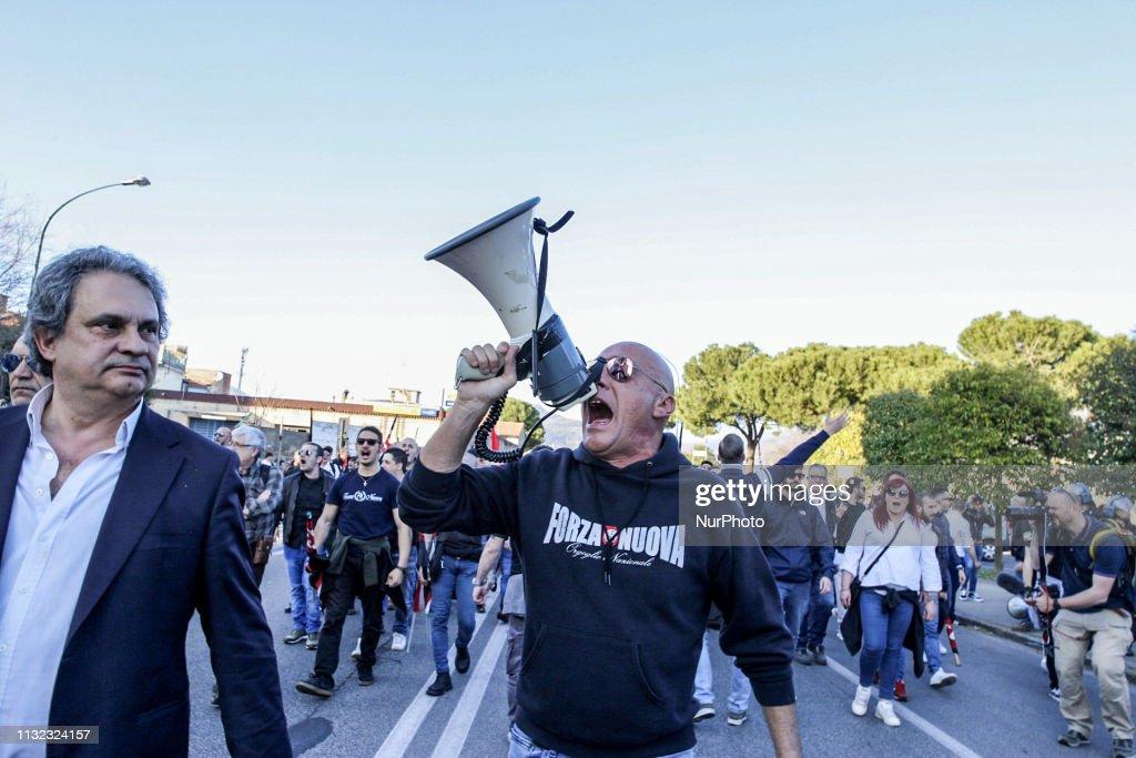 ITA: Fascist And Antifascist Rally In Prato