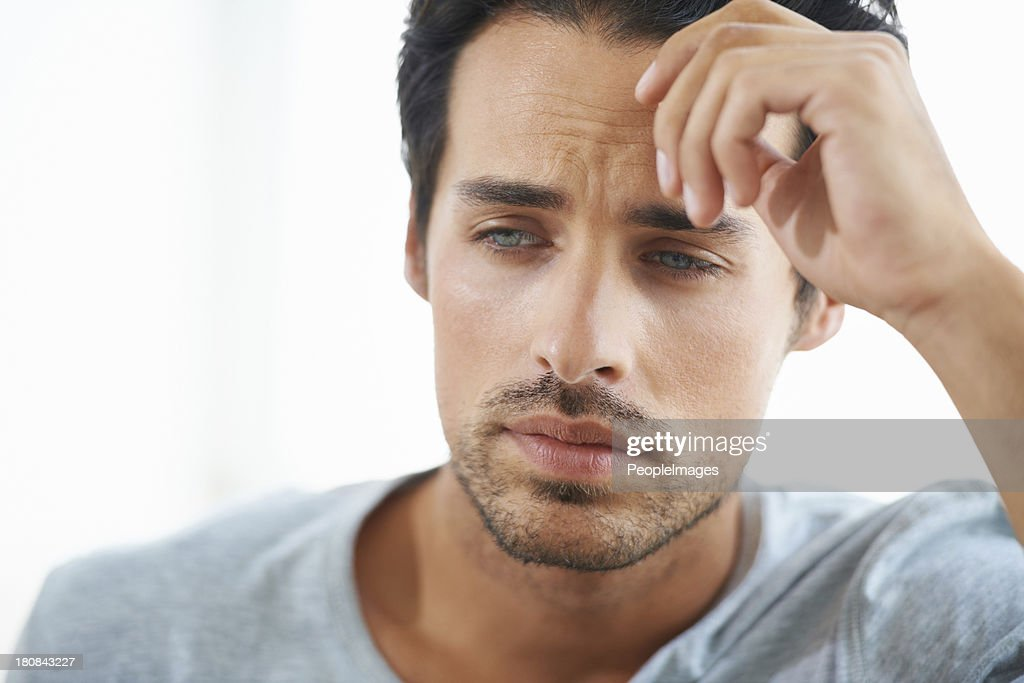 Moments of melancholy : Stock Photo