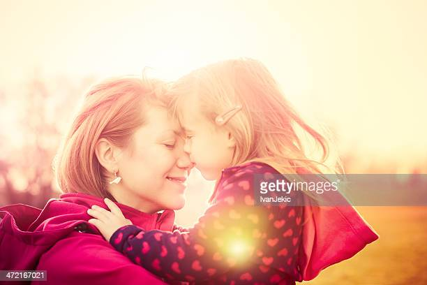 Moments together with mother and daughter