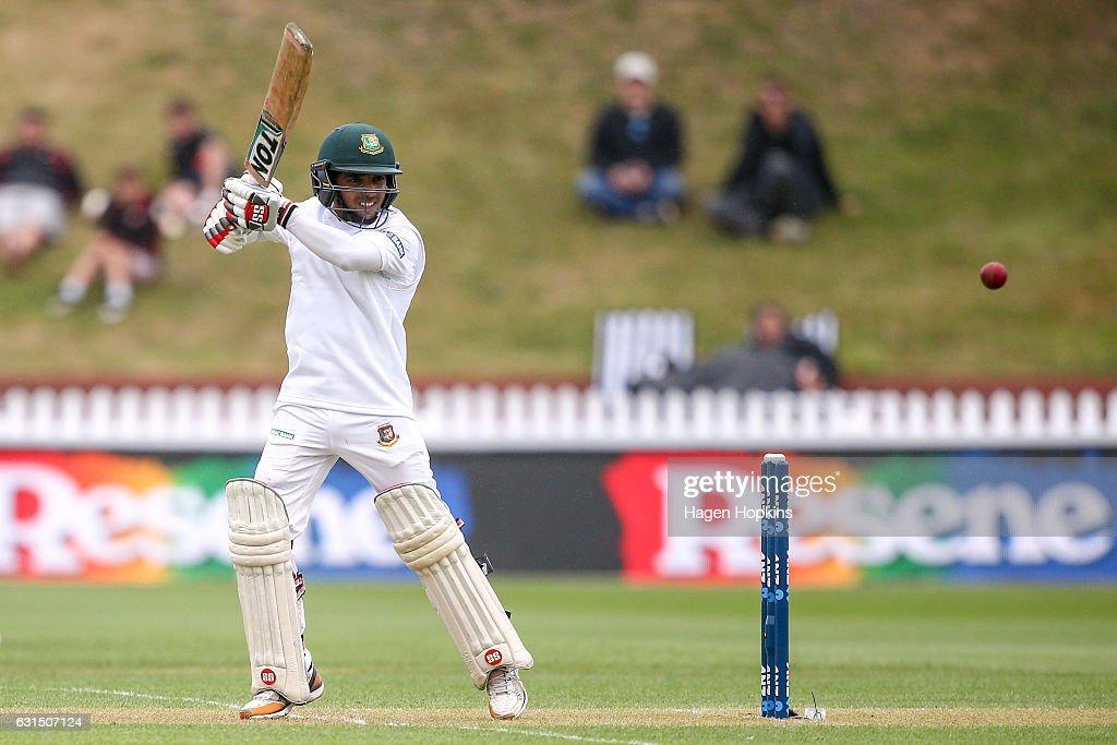New Zealand v Bangladesh - 1st Test: Day 1 : News Photo