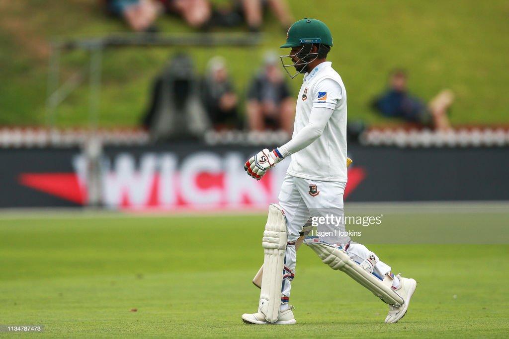 New Zealand v Bangladesh - 2nd Test: Day 3 : News Photo