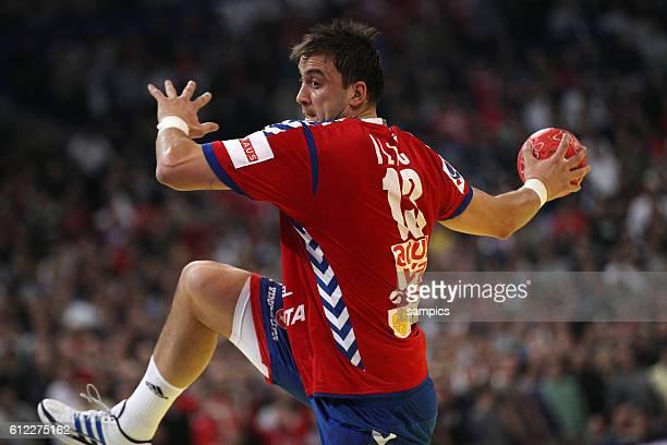 Momir ILIC Handball Männer Europameisterschaft 2012 Halbfinale : Serbien - Kroatien 10 th mens european championchip in Serbia semifinal Serbia -...