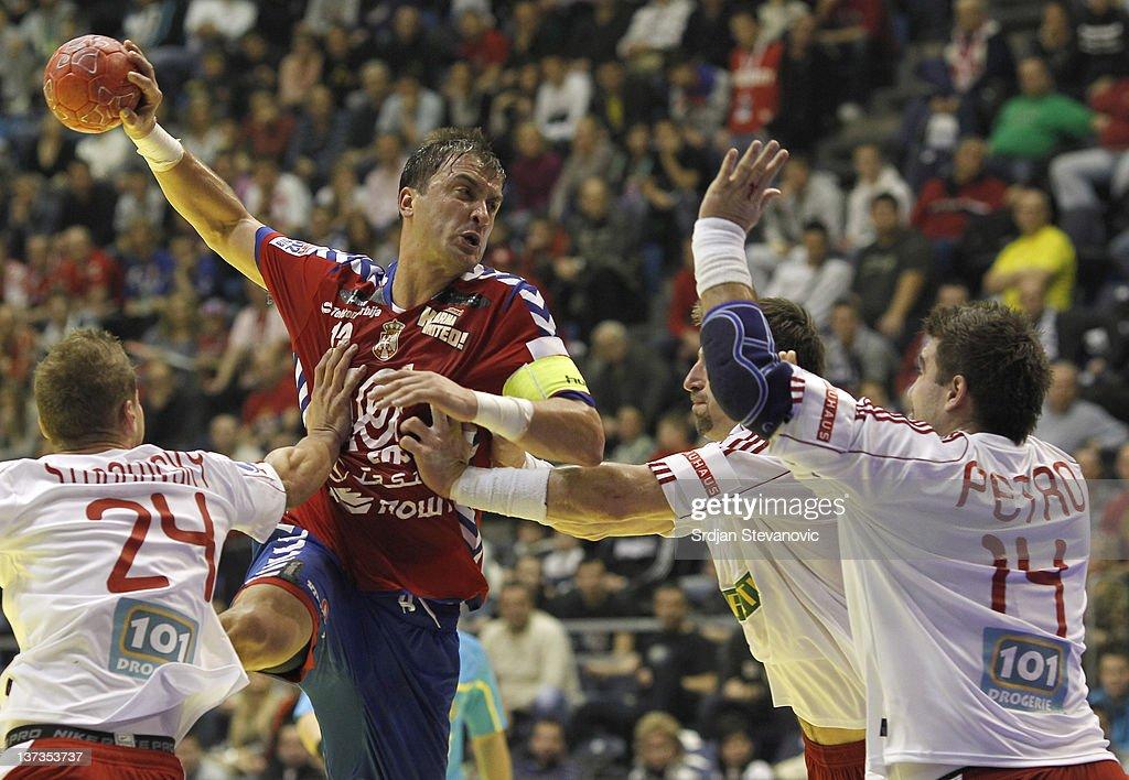 Poland v Denmark - Men's European Handball Championship 2012