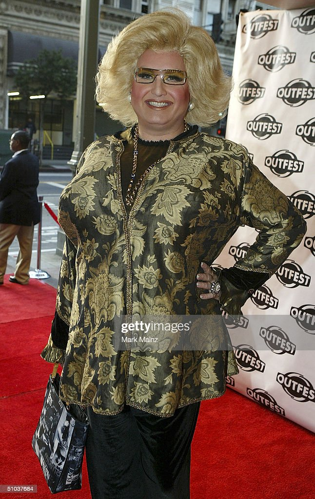 Momma attends the opening night gala of 'Outfest 2004: The 22nd L.A. Gay and Lesbian Film Festival' on July 8, 2004 at the Orpheum Theatre, in Los Angeles, California.