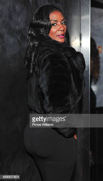 Momma Dee attends DJ Holiday's Birthday party at Prive on November 19 2014 in Atlanta Georgia