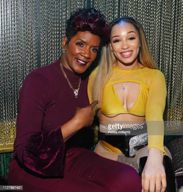 Momma Dee attends The Big Game Day Party Hosted by 50 Cent Kevin Hart at Oak on February 2 2019 in Atlanta Georgia