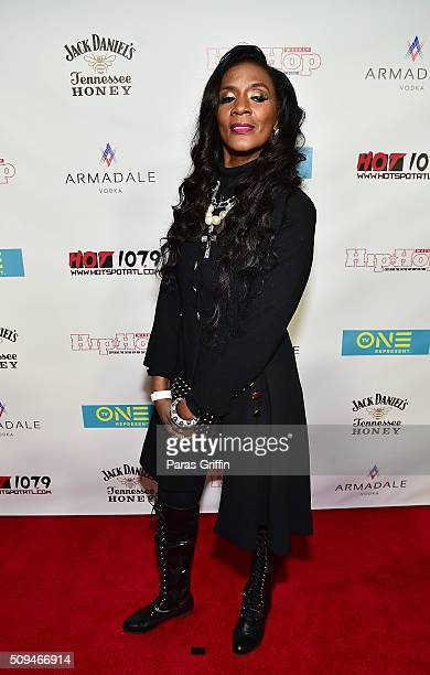 Momma Dee attends The Next 15 Atlanta screening at Suite Lounge on February 10 2016 in Atlanta Georgia