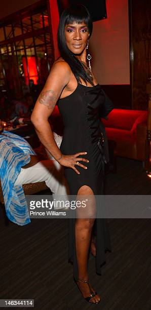 Momma Dee attends the VH1 Love and Hip Hop Atlanta premiere party at Frank Ski's Restaurant on June 13 2012 in Atlanta Georgia