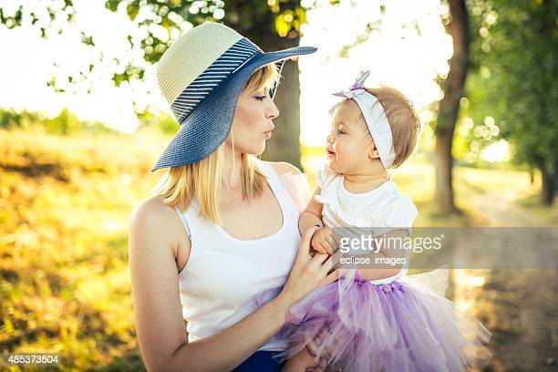 Mommy and Baby Girl