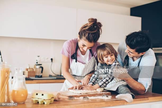 Mamá, quiero hacer las galletas!
