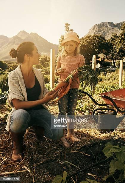Mommy's little gardener