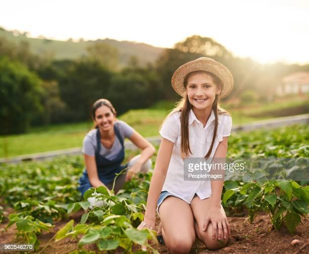 Mama's leer mij hoe deze boerderij lopen