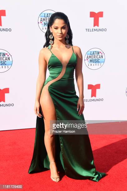MoMo attends the 2019 Latin American Music Awards at Dolby Theatre on October 17 2019 in Hollywood California