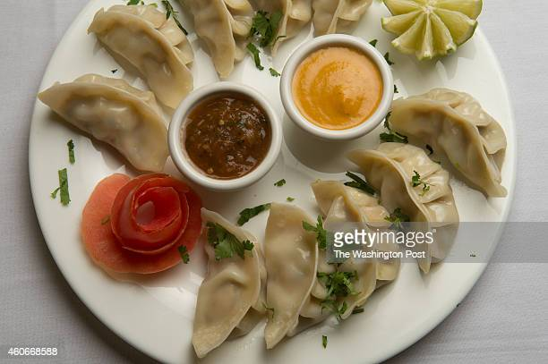 Momo dumplings are shown at Namaste restaurant in Alexandria VA on December 15 2014 Three Nepalese natives opened Namaste last year offering a mix of...