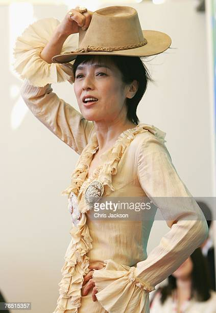 Momoi Kaori attends the Sukiyaki Westerm Django photocall in Venice during day 8 of the 64th Venice Film Festival on September 5 2007 in Venice Italy
