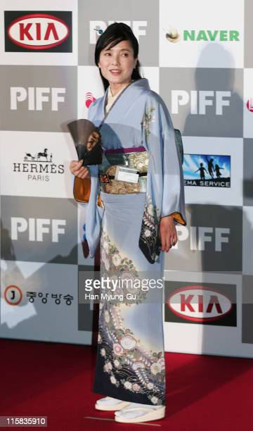Momoi Kaori during The 11th Pusan International Film Festival Opening Ceremony Arrivals at Suyoungman Yacht Stadium in Pusan Pusan South Korea