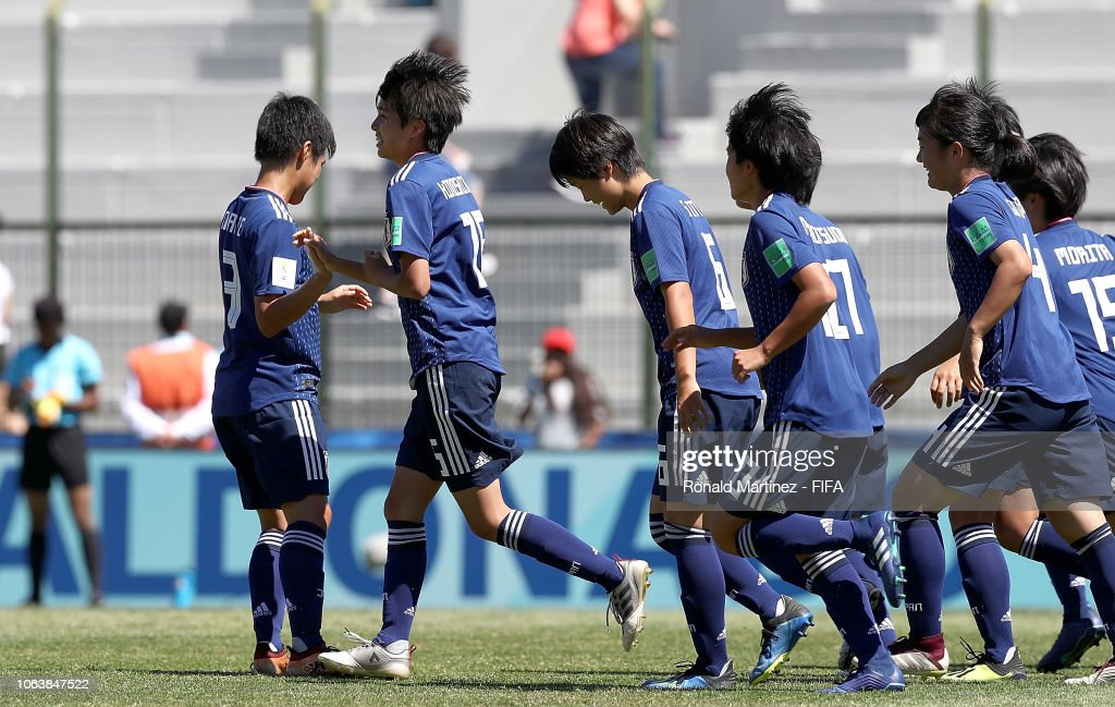 URY: Japan v Mexico - FIFA U-17 Women's World Cup Uruguay 2018